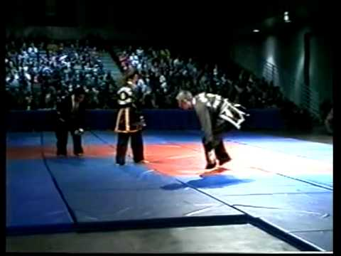 Kuk Sool Won 1999 Exhibition Master Barry and Master Choon Ok Harmon Techniques David Aue Image 1