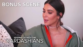 KUWTK | Kim Confronts Khloé Over Tristan Thompson Secret | E!
