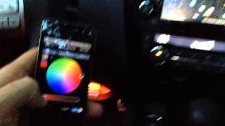 Qashqai J11 - Footwell Light managed with iPhone (over WiFi)