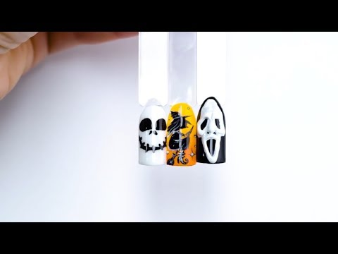 Happy Halloween! :: Zdobienia na Halloween :: Indigo Nail Art Tutorial