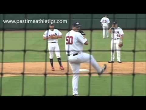 Drew Pomeranz Slow Motion Pitching Mechanics - Baseball Colorado Rockies Top Prospect MLB