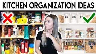 KITCHEN + PANTRY ORGANIZATION **SURPRISE MAKEOVER**