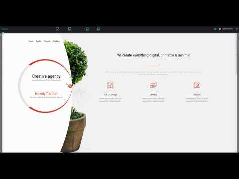 Как самому сделать сайт с нуля в редакторе Pixli. Полукруглое меню.