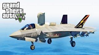GTA 5 SP #20 -  F-35B Lightning II Mod