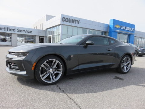 2017 camaro coupe lt nightfall grey metallic youtube