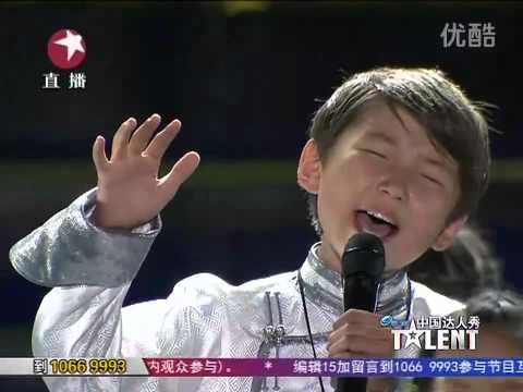 烏達木 決賽 Uudam Final Round: Finale on China's Got Talent !