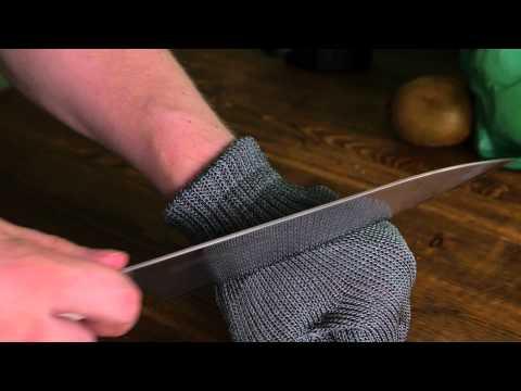 Тест защитной филеровочной перчатки