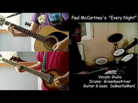 Paul McCartney - Every Night lesson & cover - Greenbeatriver & DaBeatleMen1