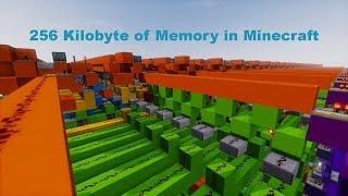 256 Kilobyte of Memory in Minecraft