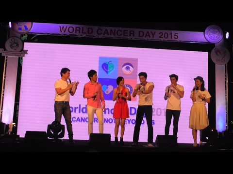 [World Cancer 2015] ซีดี โตโน่ อ้น เชอรีน เพลง เธอผู้ไม่แพ้