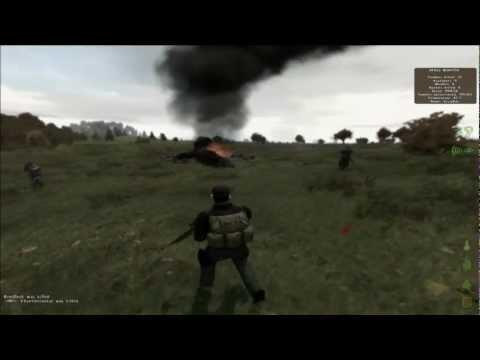 DayZ Mod Heli Crashes and JET CRASH!!!