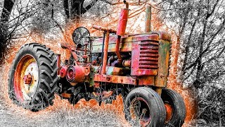 Old Tractors - First Start In Many Years | Diesel Engine Cold Start Up