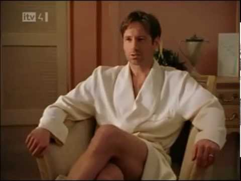 Larry Sanders makes love to David Duchovny