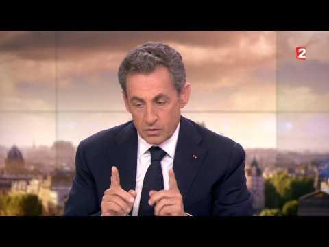 Nicolas Sarkozy - JT 20H France 2 - 21 janvier 2015