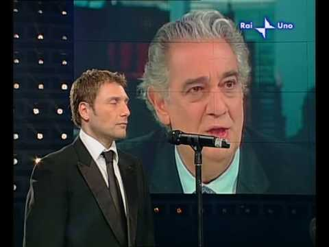 Francesco Malapena canta per Placido Domingo
