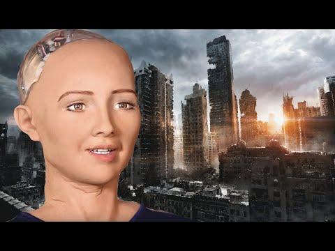 Девушка-робот София пообещала уничтожить людей!