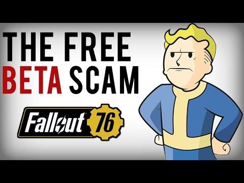 """The Massive Fallout 76 """"Free Beta Code"""" Scam..."""