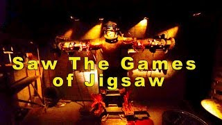 Saw: The Games of Jigsaw - Halloween Horror Nights 2017 (Universal Studios Hollywood, CA)