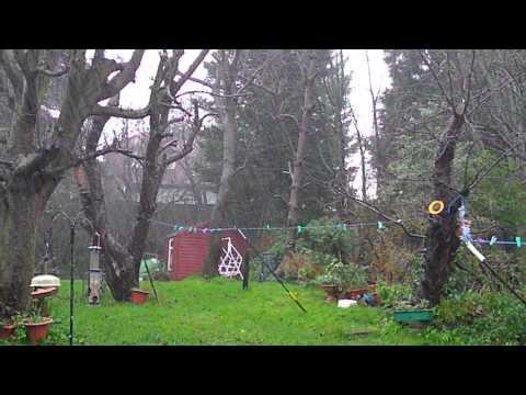 UK Atlantic Storm 2014 Heavy Rain Fall