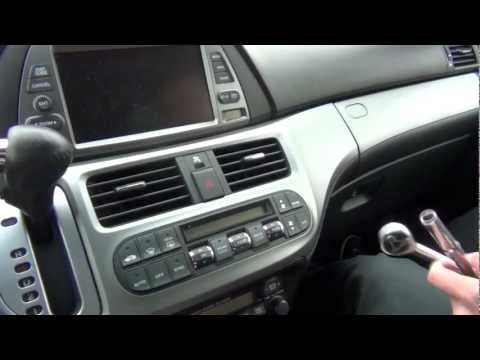 GTA Car Kits - Honda Odyssey with Navigation 2005-2010 iPod. iPhone and AUX adapter installation