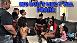 WE DONT LIKE YALL PRANK ON PARENTS!!! (Disrespectful kids prank)