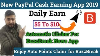 Unlimited $0.50 USD👍 PayPal | Earn Real Cash By Reading News | Auto Claim For BuzzBreak App