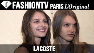 Lacoste Spring/Summer 2015 Backstage | New York Fashion Week NYFW | FashionTV