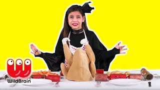 MAGIC CHRISTMAS LUNCH DISASTER 🎄 Prank Goes Wrong! - Princesses In Real Life | WildBrain Kiddyzuzaa
