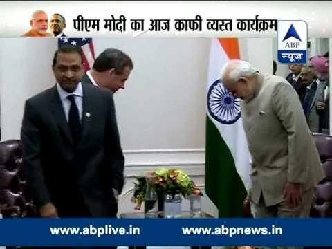 Modi meets New Jersey Governor Chris Christie, invites him to India