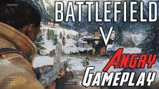 Battlefield V Gameplay - AngryJoe Impressions