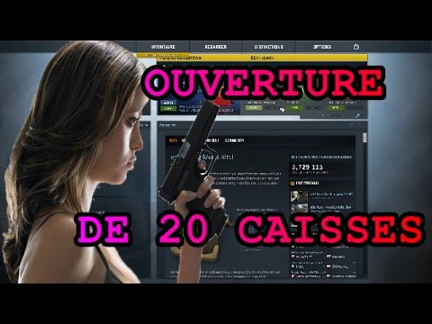ouverture de 20 caisses breakout cs go unboxing num ro 2 youtube. Black Bedroom Furniture Sets. Home Design Ideas