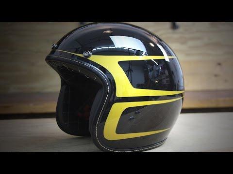 Fly .38 Open Face Helmet Special Edition Scallop Paint Overview - Deadbeatcustoms.com