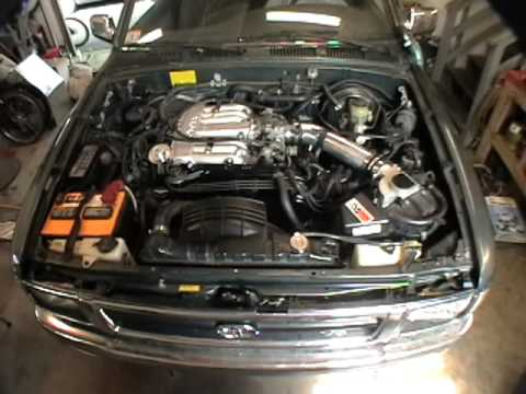 1992 Toyota Pick Up Engine Swap Amp Truck Build Youtube