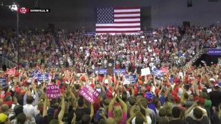 Watch Live! Trump Rally in Evansville, IN