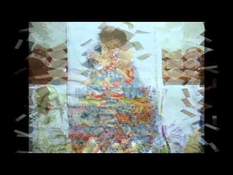 pintura de tecidos - bonecas