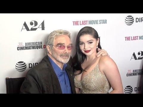 Ariel Winter and Burt Reynolds at The Last Movie Star Los Angeles film Premiere