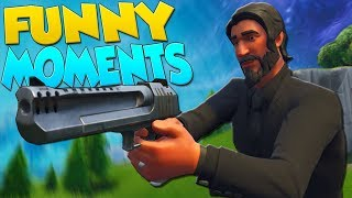 ATTACK OF THE JOHNS & VOICE CHANGER!! (Fortnite Funny Moments)