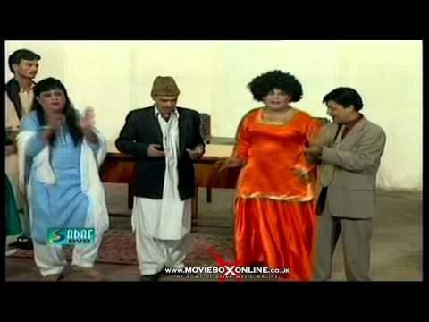 ANGOOR KHATAY HAIN - UMAR SHARIF - PAKISTANI COMEDY STAGE DRAMA...