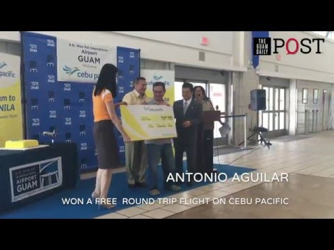 Cebu Pacific Air lands in Guam | The Guam Daily Post