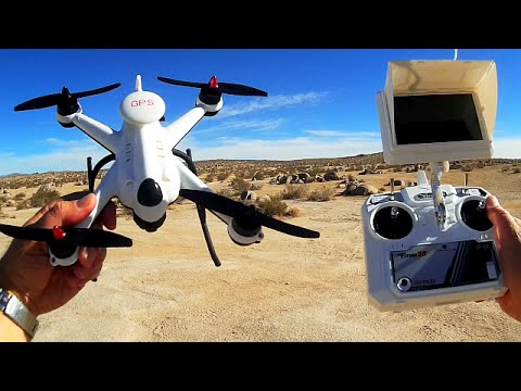 Flying 3D X6 Plus GPS FPV Drone Flight Test Review