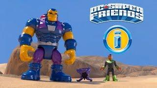 Green Lantern battles Mongul | DC Super Friends | Imaginext