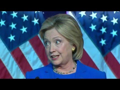 Hillary Clinton targets Donald Trump in DNC speech