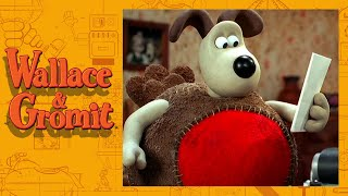A Christmas Cardomatic - Cracking Contraptions - Wallace and Gromit