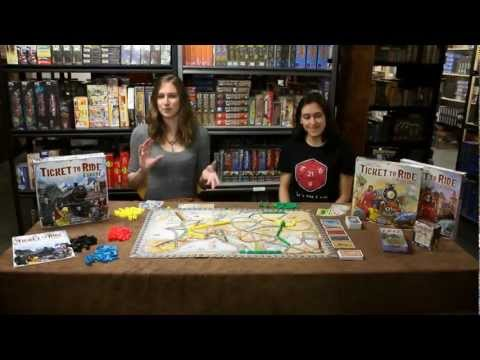 Starlit Citadel reviews Ticket to Ride Europe