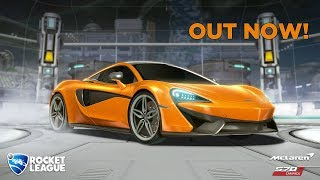 New Rocket League Car: McLaren 570s!