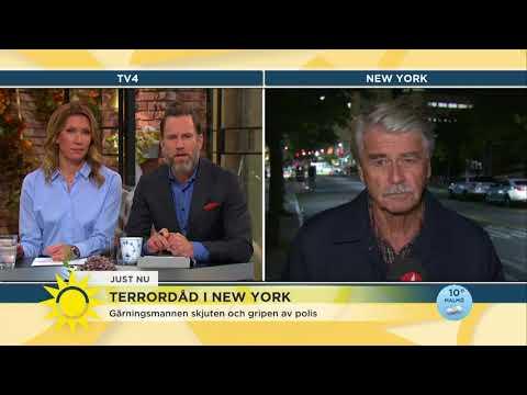 """Terrordåd i New York – """"Folk är bedrövade att det händer i de här symboliska kvarteren på nedre Manh"""