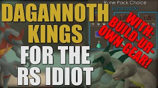 Dagannoth Kings (DKs) Guide For The RuneScape Idiot [OSRS 2019]
