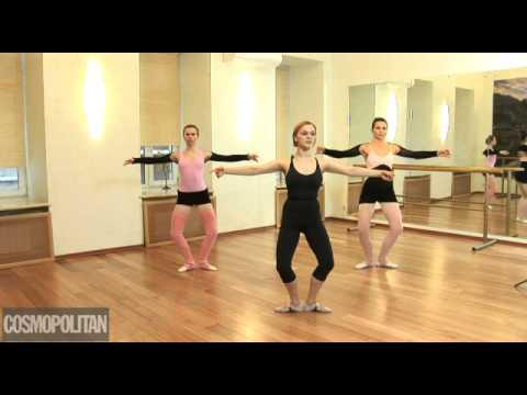 Уроки балета для начинающих - видео