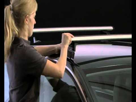 Roof Rack For Cars >> Thule 753 Fit Kit for Roof bars / Roof racks on Cars, 4x4 & MPV - YouTube
