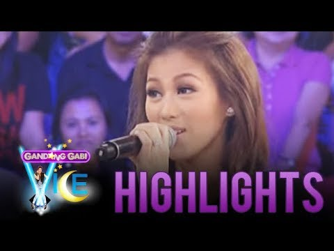Alex Gonzaga impersonates her sister Toni on GGV